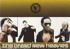 Postcard: The Brand New Heavies - Shelter Album Release 1997 (GQ Card Promo)
