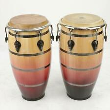 2 Pearl Elite Folkloric PCW117FC Congas Percussion w/ Bags #39723