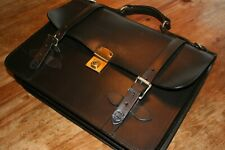 Filson Bridle Leather Field Satchel