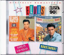 "ELVIS PRESLEY ""LOVE IN LAS VEGAS and ROUSTABOUT""  CD NUOVO RARO FUORI CATALOGO"