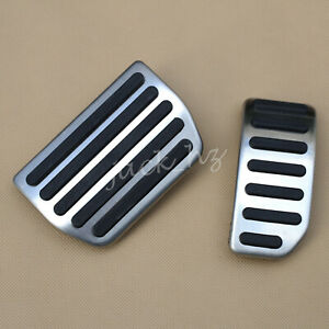 Automatic NO DRILL Steel Gas Brake Pedal Pad Cover FOR Volvo S60/V60/XC60/S80