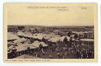 Birdseye View of New York State Fair SYRACUSE NY Vintage Postcard