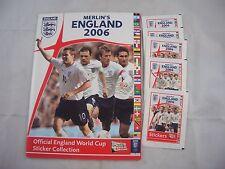 Inghilterra MERLIN 2006 sticker album vuoto
