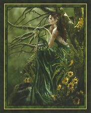 "Nene Thomas Fairy Open Edition Print 8x10"" Queen of Fate Green Dragon Woods New"