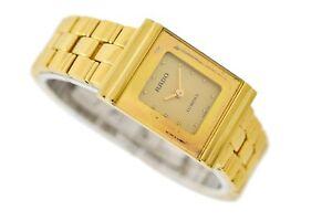 Vintage Rado Florence Gold Plated Quartz Ladies Watch 163