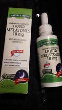 Mélatonine Liquide 10 mg / 59 ml - Avec boite - Exp 2022 - Neuf .Vendu en France