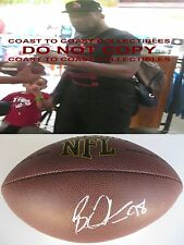BRIAN ORAKPO,TITANS,REDSKINS,TEXAS LONGHORNS,SIGNED,AUTOGRAPHED,FOOTBALL,PROOF