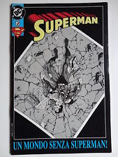 SUPERMAN 1/90 SEQUENZA COMPLETA PLAY PRESS