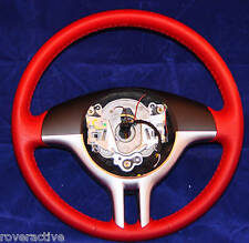 BMW Brand Genuine Sport Z3 2000-2002 Steering Wheel Red & Chrome OEM New