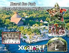 Mexico - XCARET ECO PARK - Travel Souvenir Flexible Fridge Magnet