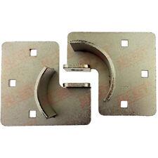 """High Security Trailer Door Hasp 8-1/4"""" For Puck Locks"""