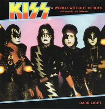 ★☆★ CD Single KISS A World Without Heroes 2-track CARD SLEEVE Dark Light   ★☆★