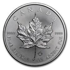 2017 1 oz Canadian Silver Maple Coin (BU)