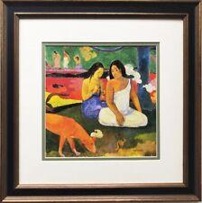 "Paul Gaugin ""Arearea (Red Dog) "" 1829Framed Art Print Masters"