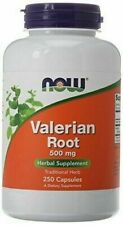 NOW Foods Valerian Root 500mg Veg Capsules - 250 Count