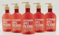 5 BATH &BODY WORKS AFTERNOON APPLE PICKING NOURISHING HAND SOAP W/SHEA EXTRACT