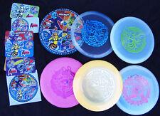 "6"" Discraft Mini Disc Set - Sick Limtd Ed - Set Of 6 -Awesome Art -Collector!S"