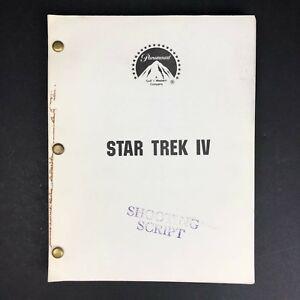 Paramount Star Trek IV Movie (REV.) Shooting Script #52 / 76 - March 11, 1986