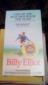 Billy Elliot (2000) VHS Julie Walters Gary Lewis 11 year old boxing ballet NEW