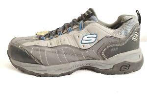 Skechers Canyon Hobby Steel Toe Hiking Work Men Boots Sz 13 76785