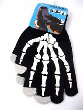 SKELETON THERMALTECH RUNNING WINTER GLOVES WITH TOUCH SCREEN PHONETHUMB-NEW