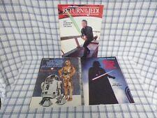 3 Star Wars Story Books Empire Strikes Back, Return of the Jedi & Star Wars