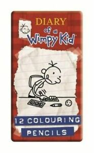 Diary Of A Wimpy Kid Colouring Pencils