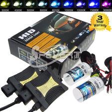 2x 55W Xenon HID Conversión Kit Lámparas/Balastros H1 H3 H7 H8 H9 HB3 HB4 880