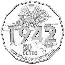 AUSTRALIA 2012 50 CENT SHORES UNDER SIEGE THE BOMBING OF AUSTRALIA