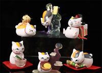 Anime Natsume Yuujinchou Madara Figure Model Car Ornaments Set Present Collect