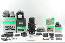 [N MINT] Fuji Fujifilm GX680 II 100mm f/4 Lens w/ Type III Film Back From JAPAN