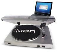 """USB Schallplattenspieler ION TTUSB05 XL """"Vinyl zu MP3"""" - Neu & Originalverpackt"""