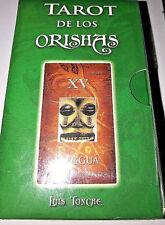 TAROT DE LOS ORISHAS SANTERIA NEW CARTAS Y LIBRO IFA PALO - Brand New Sealed