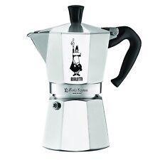 Bialetti Stovetop Espresso Maker 6 Cup Kitchen Polished Aluminum Classic Silver