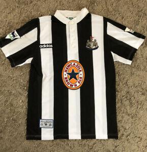 Newcastle United 1996 Home Shirt - Shearer 9 - Medium