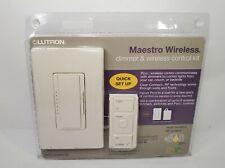 Lutron MRF2-600MTHW-WH Dimmer Switch 600W Multi-Location Maestro RF Wireless