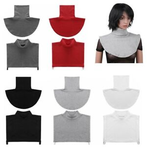Women_Faux Turtleneck Neck Dickey False Mock Blouse Half Top Collar Neck Cover