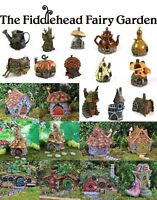 Fiddlehead Fairy Garden Houses Miniature Opening Doors Weatherproof Detailed