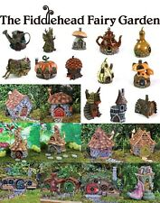 Fiddlehead Fairy Garden Houses Miniature Opening Doors Weatherproof Detailed