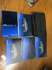 2013 Honda Accord Sedan Sport Manuals With Case