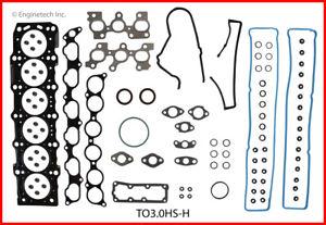Enginetech Engine Cylinder Head Gasket Set TO3.0HS-H