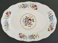 "Summer Garden by Favolina Oval Serving Platter 13"" Made in Poland"