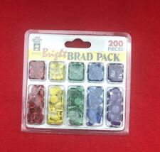 HUNTER GREEN MINI ROUND BRADS Scrapbooking Stamping Card Making