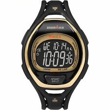 "Timex TW5M06000, Men's ""Ironman"" 50-Lap Watch, 3 Alarms, Chronograph, Indiglo"