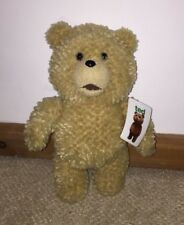 """BNWT TED THE MOVIE TALKING TED SOFT PLUSH TOY NEW GIFT QUALITY PLUSH BEAR 12"""""""