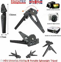 All in 1 Digital Camera Tripod Small Portable Stand for Projectors Camcorder UK