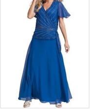 Women's Wedding Mother of Bride Groom evening formal Prom gown dress plus 20W 1X
