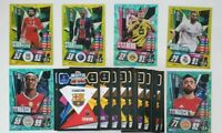 2020/21 Match Attax UEFA Champions League - Lot of 50 cards incl 10 shiny