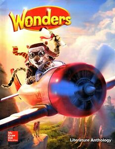 Wonders Literature Anthology Grade 4 Textbook - Homeschool / Online