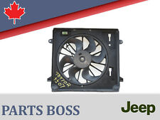 Jeep Wrangler 2007-2009 Auxiliary Cooling Fan Assembly 55056642AB